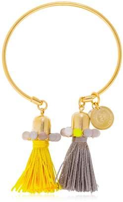 Anton Heunis Color Block Tassel Bracelet