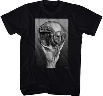 Self-Portrait M. C. Escher Hand With Reflecting Sphere Art Artist MC Escher Adult T-Shirt Tee