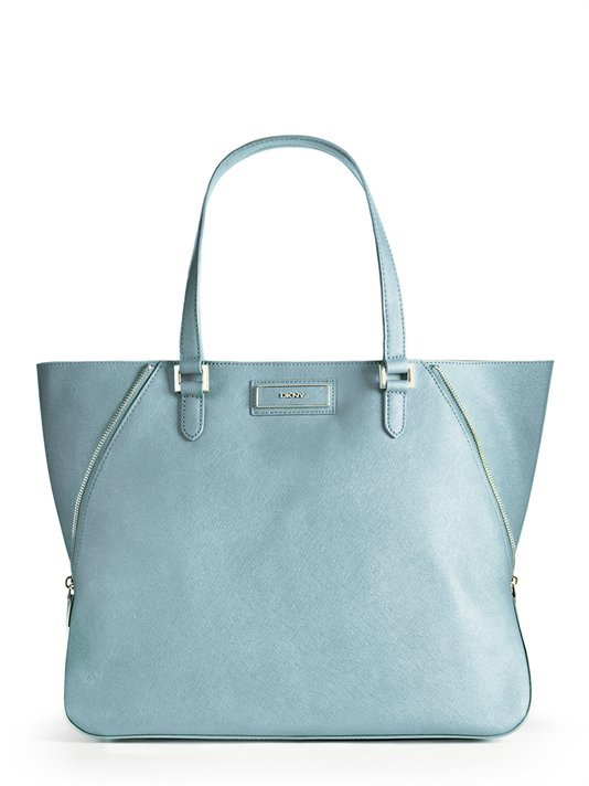 DKNY Saffiano Large Zip Tote