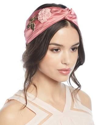 Jennifer Behr Ingrid Silk Turban Headband xG6xs
