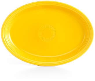 """Fiesta Sunflower 19"""" Oval Serving Platter"""