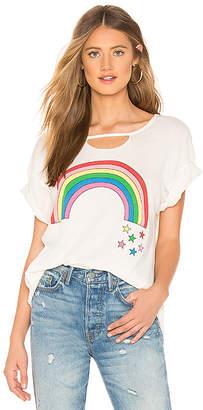 Wildfox Couture Rainbow Stars Rivo Tee