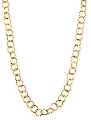"Dina Mackney Light Circle Chain Necklace, 36""L"