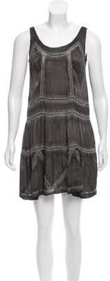 Pam & Gela Silk Shift Dress