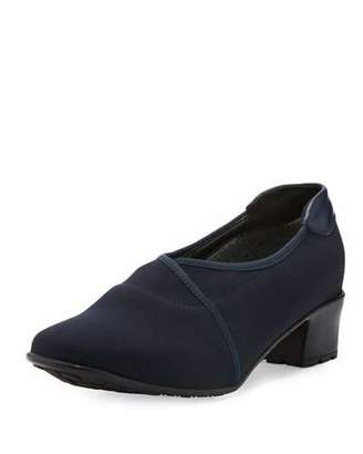 Sesto Meucci Yair Waterproof Stretch Pump, Blue Navy $350 thestylecure.com