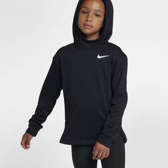 Nike Dri-FIT Older Kids'(Girls') Training Pullover Hoodie