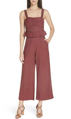 Sea O'Keeffe Quilted Corset Jumpsuit
