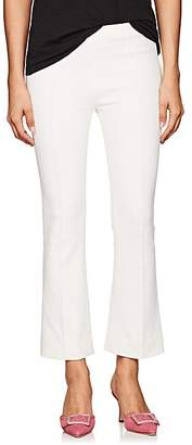 Lisa Perry Women's Ponte Crop Flared Pants - White