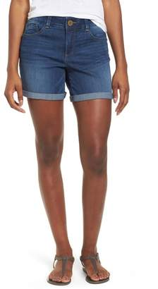 Wit & Wisdom Ab-solution Cuffed Denim Shorts