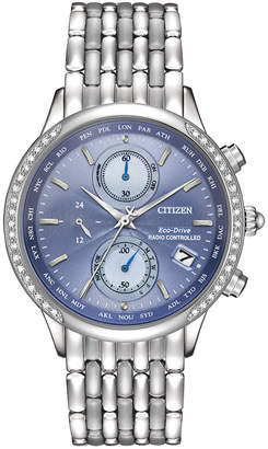 Citizen Women's Diamond Stainless Steel Watch