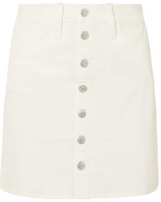 Madewell Stretch-denim Mini Skirt
