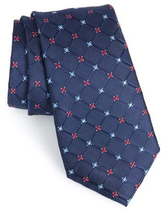 Nordstrom Cambridge Grid Silk Tie