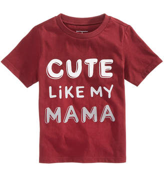 First Impressions Toddler Boys Cute-Print Cotton T-Shirt, Created for Macy's