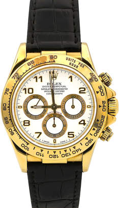 Rolex Pre-Owned 40mm Men's 18k Daytona Chronograph Watch