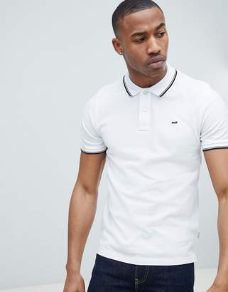 Jack and Jones Essentials Polo Shirt With Tipping
