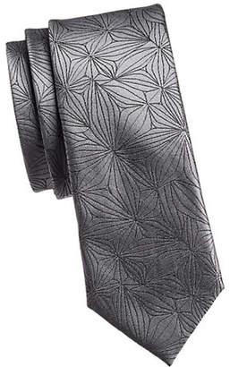 Calvin Klein Starburst Slim Silk Tie