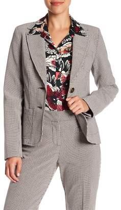Trina Turk Opulent Tattersall Check Jacket