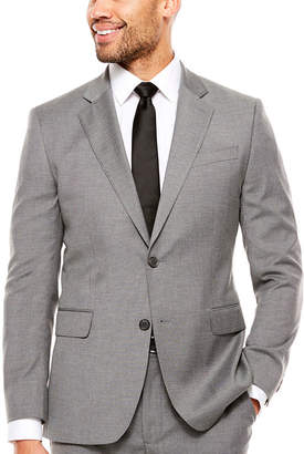 Jf J.Ferrar Pin Dot Slim Fit Stretch Suit Jacket