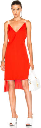 Frankie Slip Dress with Piping