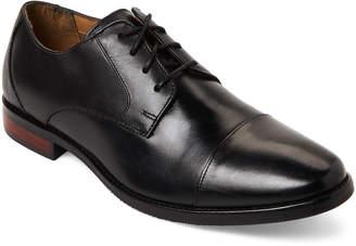 Florsheim Black Matera Leather Cap Toe Oxfords