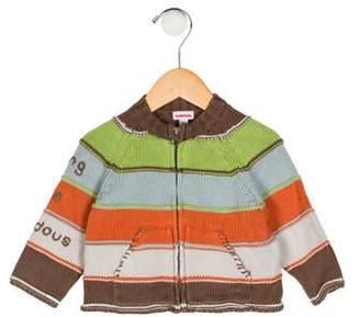 Catimini Girls' Striped Zip-Up Jacket