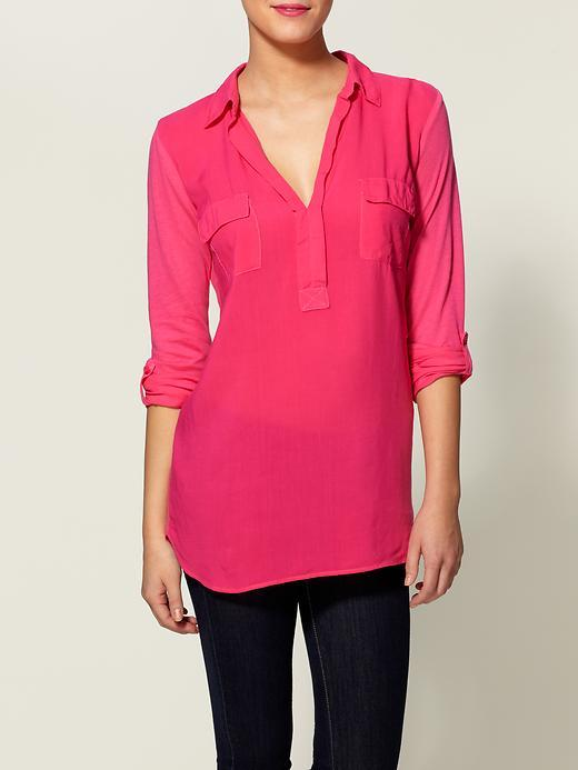 Splendid Always Shirting Pocket Tunic