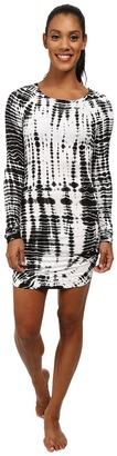 Hard Tail Long Sleeve Mini Dress $98 thestylecure.com