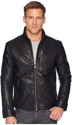 John Varvatos Collection Slim Fit Short Zip Closure Jacket L1125U1 Men's Coat