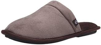 Isotoner Men's Check Cord Clog Thinsulate Flat