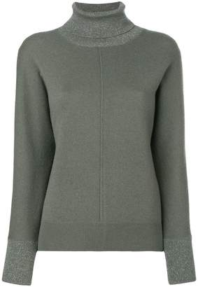 Peserico knitted roll neck sweater