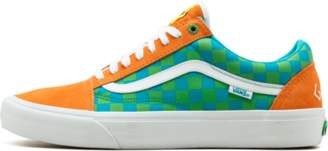 44f5c9e205fefa Vans Old Skool Pro (Golf Wang) Orange Blue