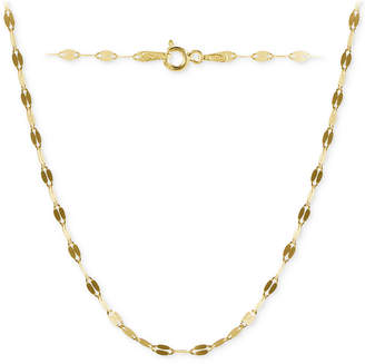 """Giani Bernini Twisted 24"""" Chain Link Necklace in 18k Gold-Plated Sterling Silver, Created for Macy's"""