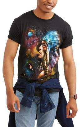 Movies & TV Men's Galaxy Man Graphic T-shirt
