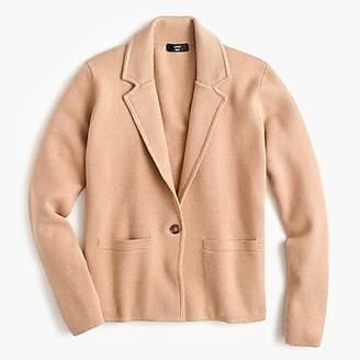 J.Crew Margot cropped sweater-blazer