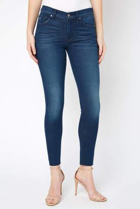 Hudson Nico Midway Raw Hem Skinny Jean