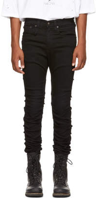 R 13 Black Skywalker Jeans