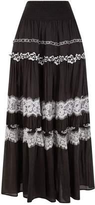 Pinko Tiered Maxi Skirt