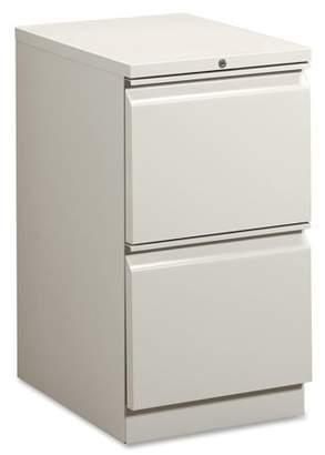 HON 2 Drawers Vertical Lockable Filing Cabinet, Gray