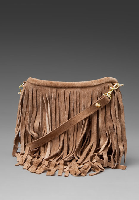 JJ Winters Mini Fringe Cross Body Bag