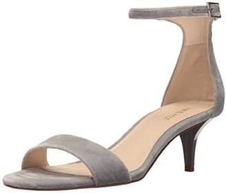 Nine West Women's Leisa Fabric Heeled Sandal