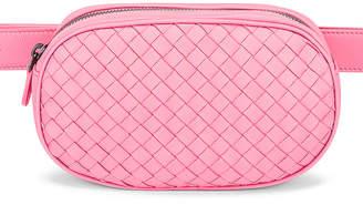 Bottega Veneta Woven Belt Bag in Rosa | FWRD