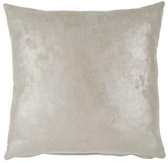 Barneys New York Leather Heavy Metal Pillow