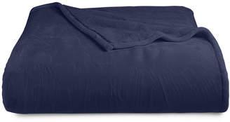 Berkshire Last Act! Blanket Luxe Reversible Plush Twin Blanket Bedding