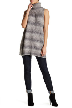 Wild Pearl Sleeveless Turtleneck Sweater $28.97 thestylecure.com