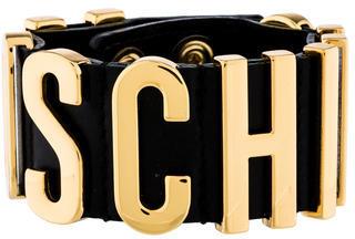 MoschinoMoschino Logo Cuff Bracelet