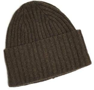 Drakes Drake's Brushed Merino Wool Hat in Green
