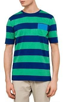 Paul & Shark Solid Stripe Tshirt