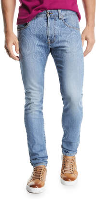Etro Paisley Degrade Jeans