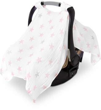 Aden Anais Aden By Aden + Anais Baby Girls Cotton Doll Printed Car Seat Canopy