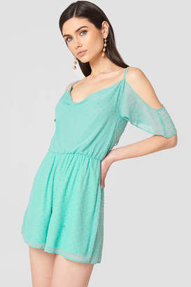 Oh My Love Cold Shoulder Dress
